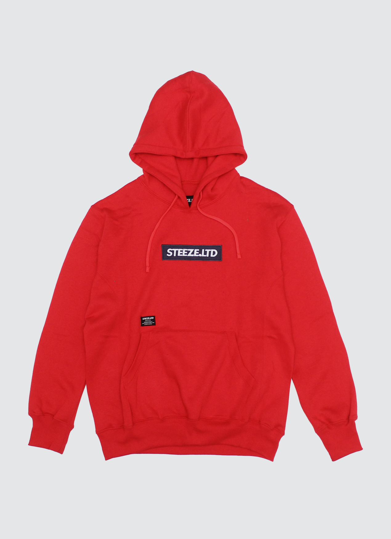 4c012f52 Buy Original Steeze.Ltd Red Authentic Logo Pullover Hoodie at ...