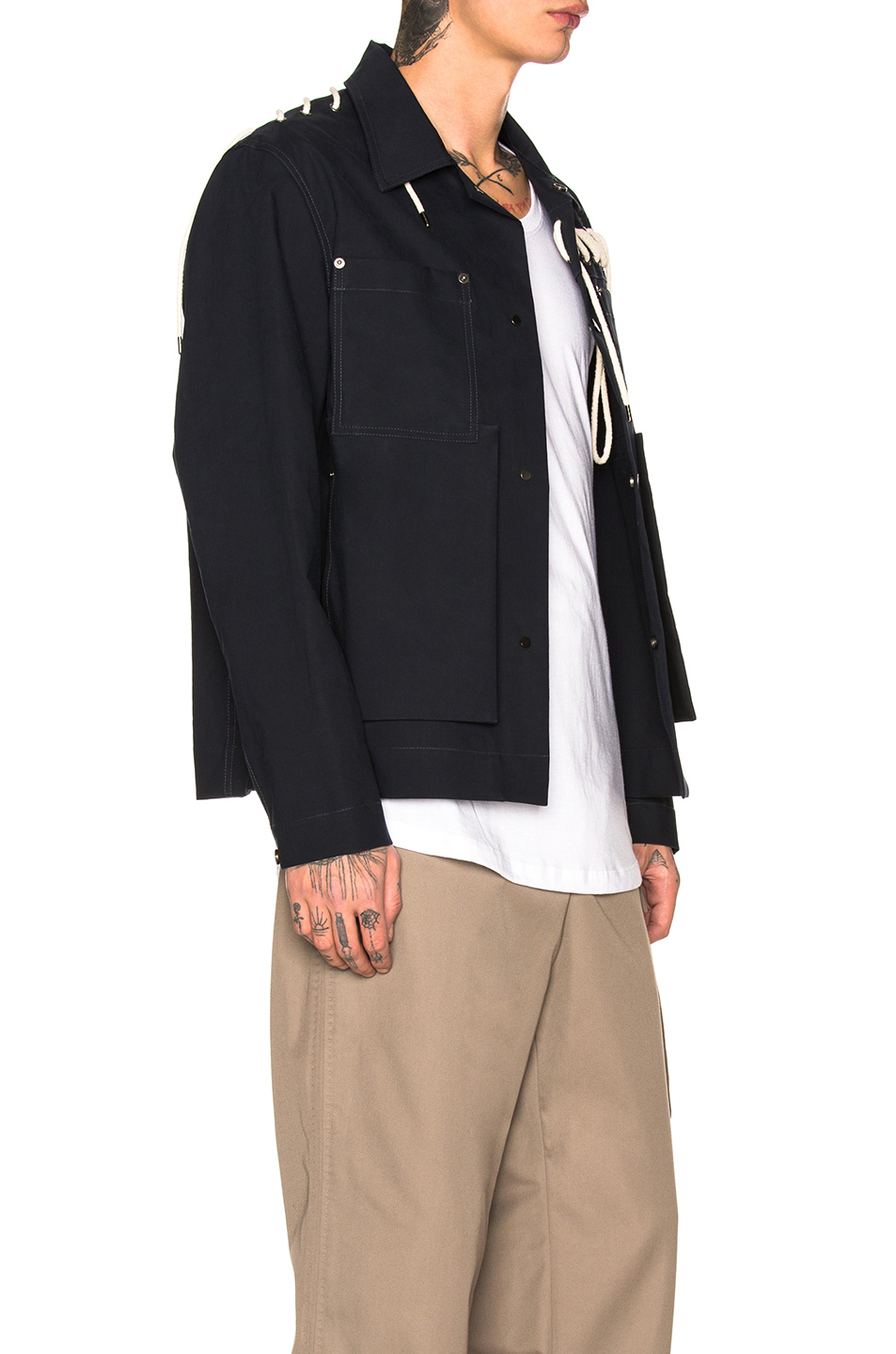 Craig Green Laced Bonded Worker Jacket