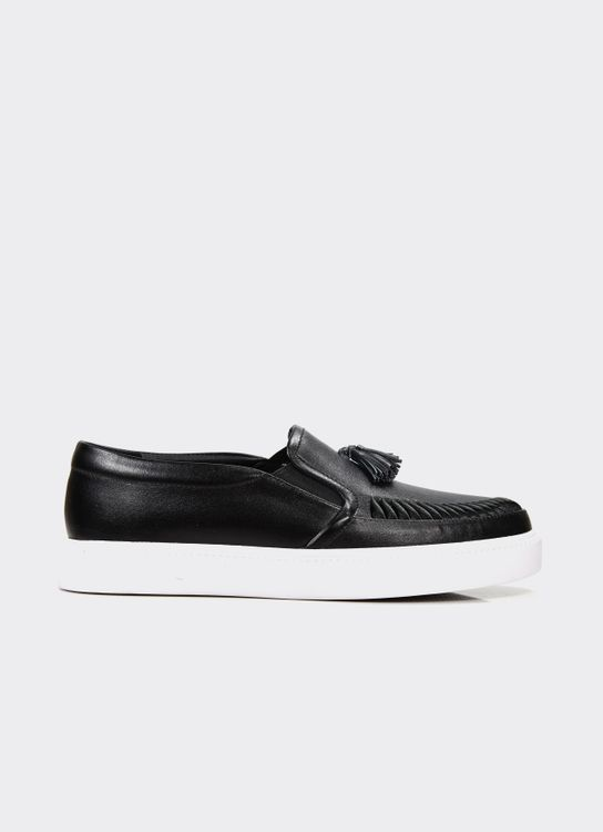 Winston Smith Black Chika Loafers