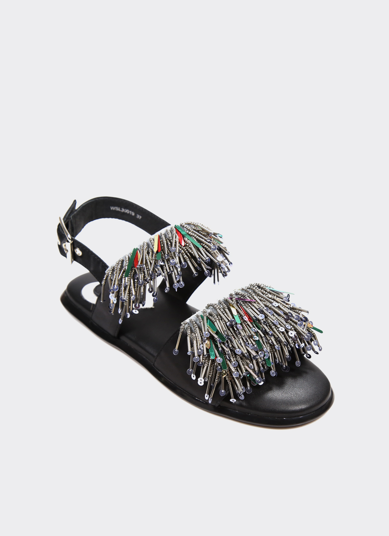 Winston Smith Gray Valerie Sandals