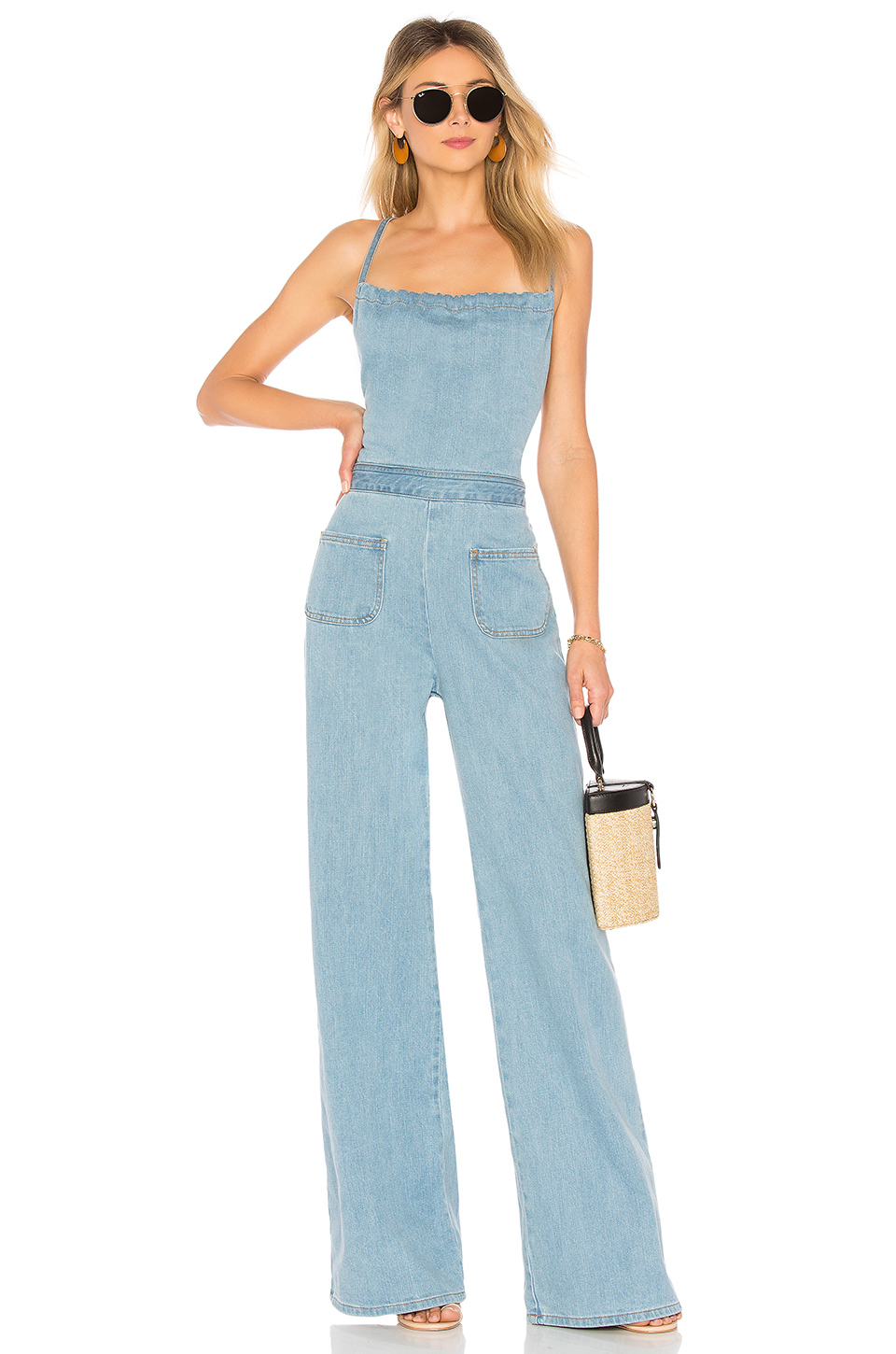fbe24e8763c7 Stoned Immaculate Jean Genie Jumpsuit  Stoned Immaculate Jean Genie Jumpsuit  ...