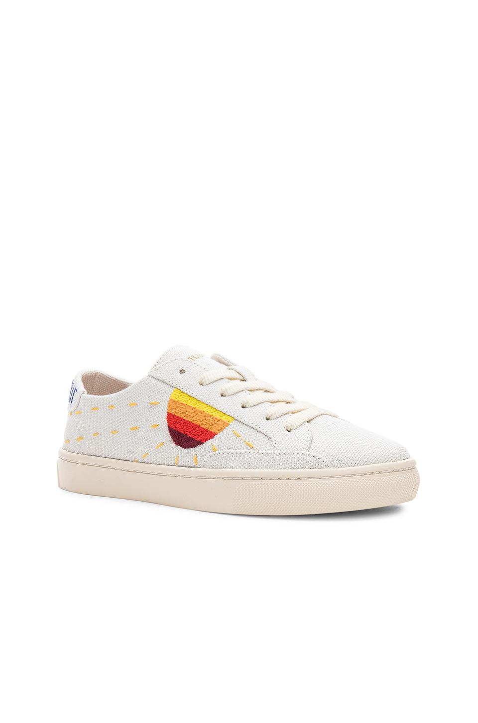 f1c7e70cd Embroidered Sun Sneaker, Soludos