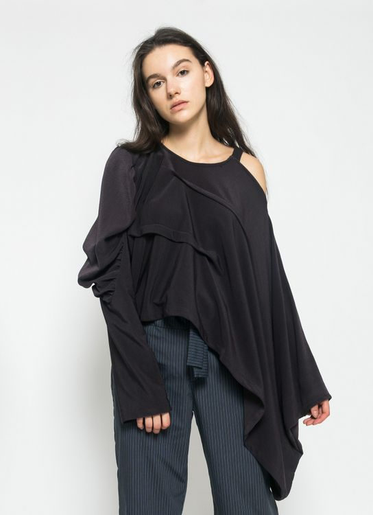 Henrixa Wine Eleanore Blouse