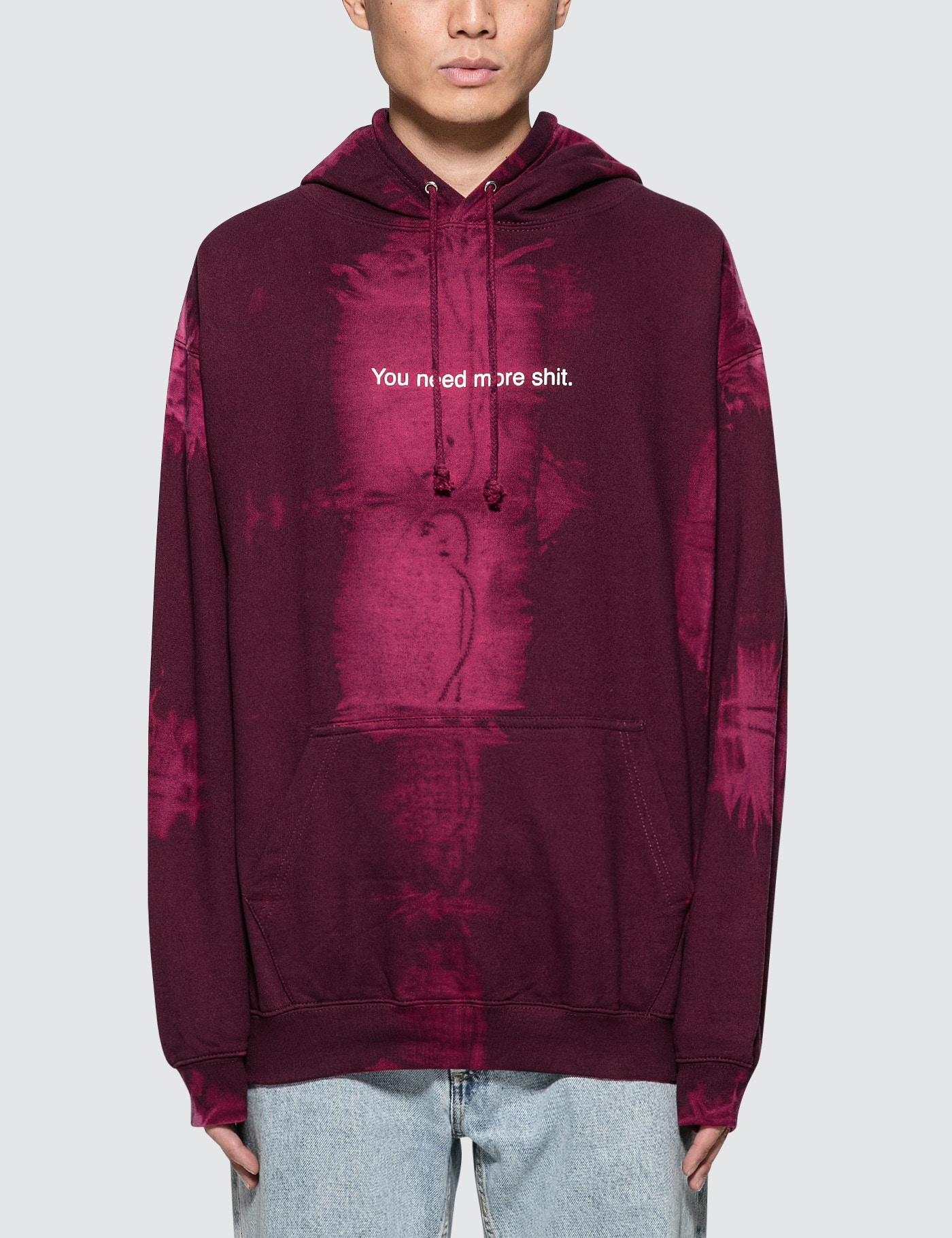 "F.A.M.T. ""You Need More Shit"" Bleach Hoodie"