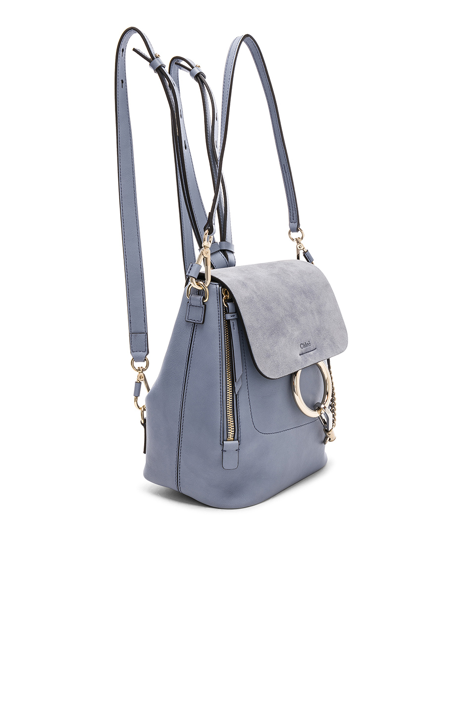 5b2f8bb4a6 Buy Original Chloe Small Faye Calfskin   Suede Backpack at Indonesia ...