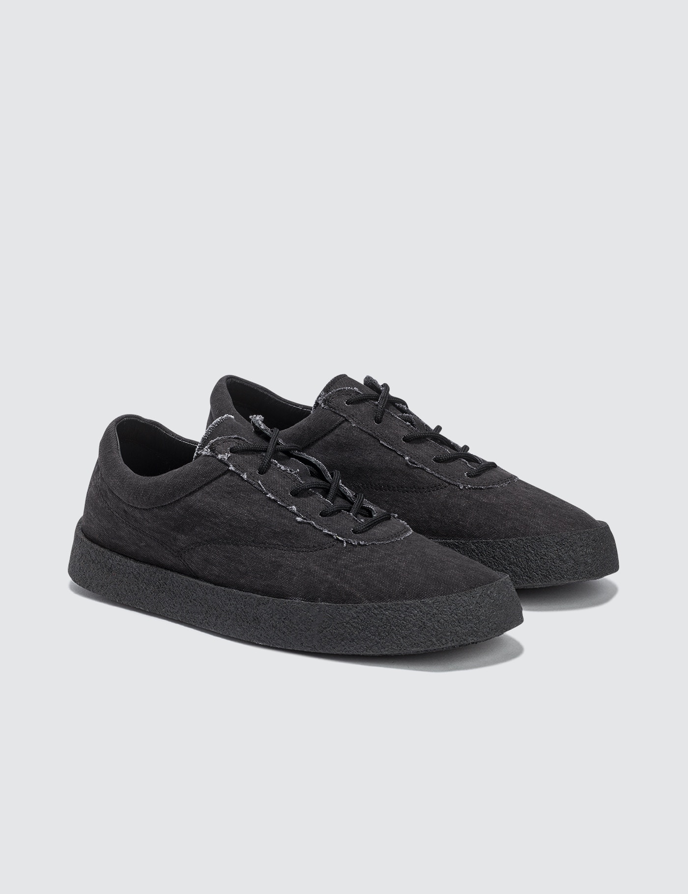 Crepe Sneaker In Washed Canvas