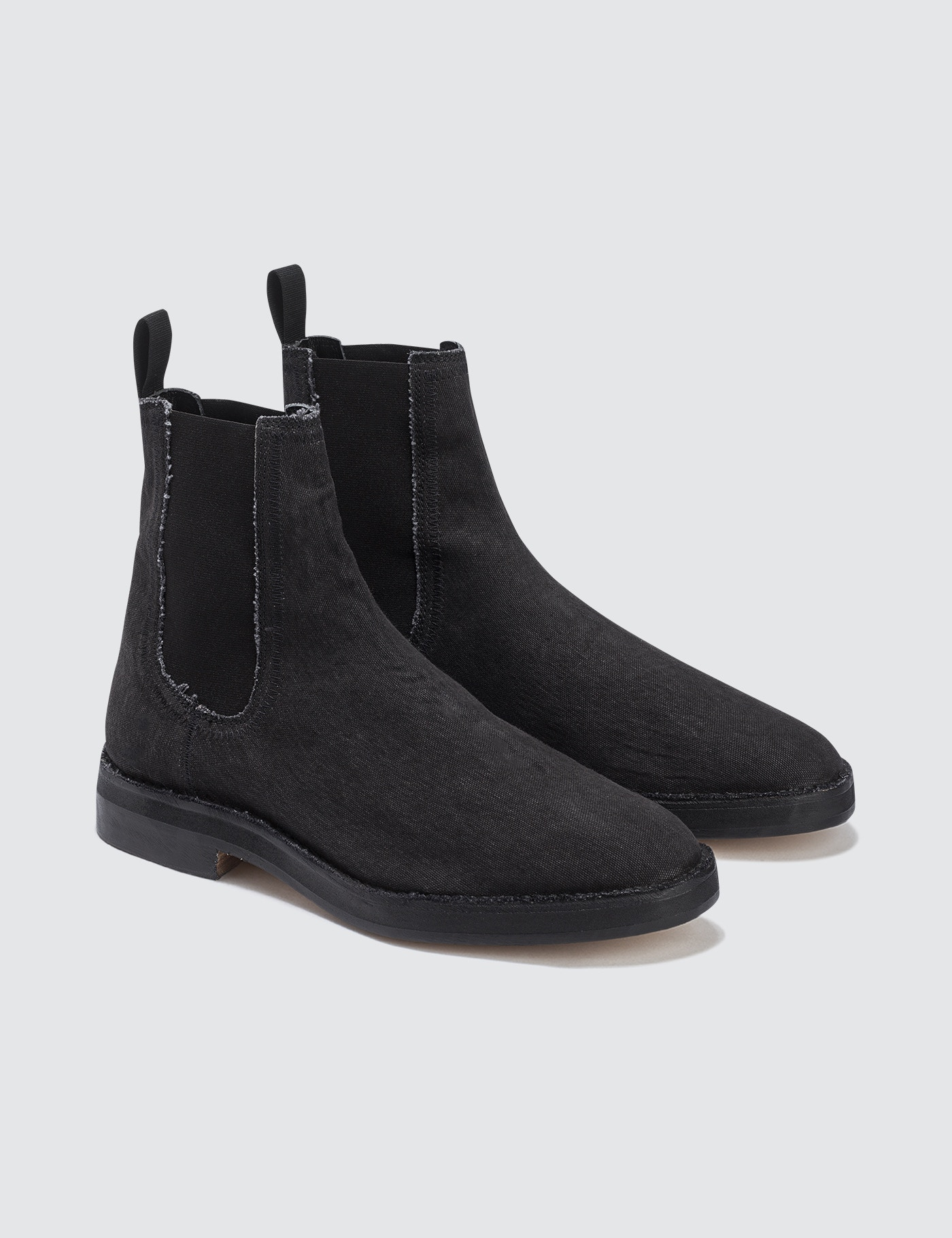 c89f754e4 Buy Original Yeezy Season 6 Chelsea Boot In Washed Canvas at ...