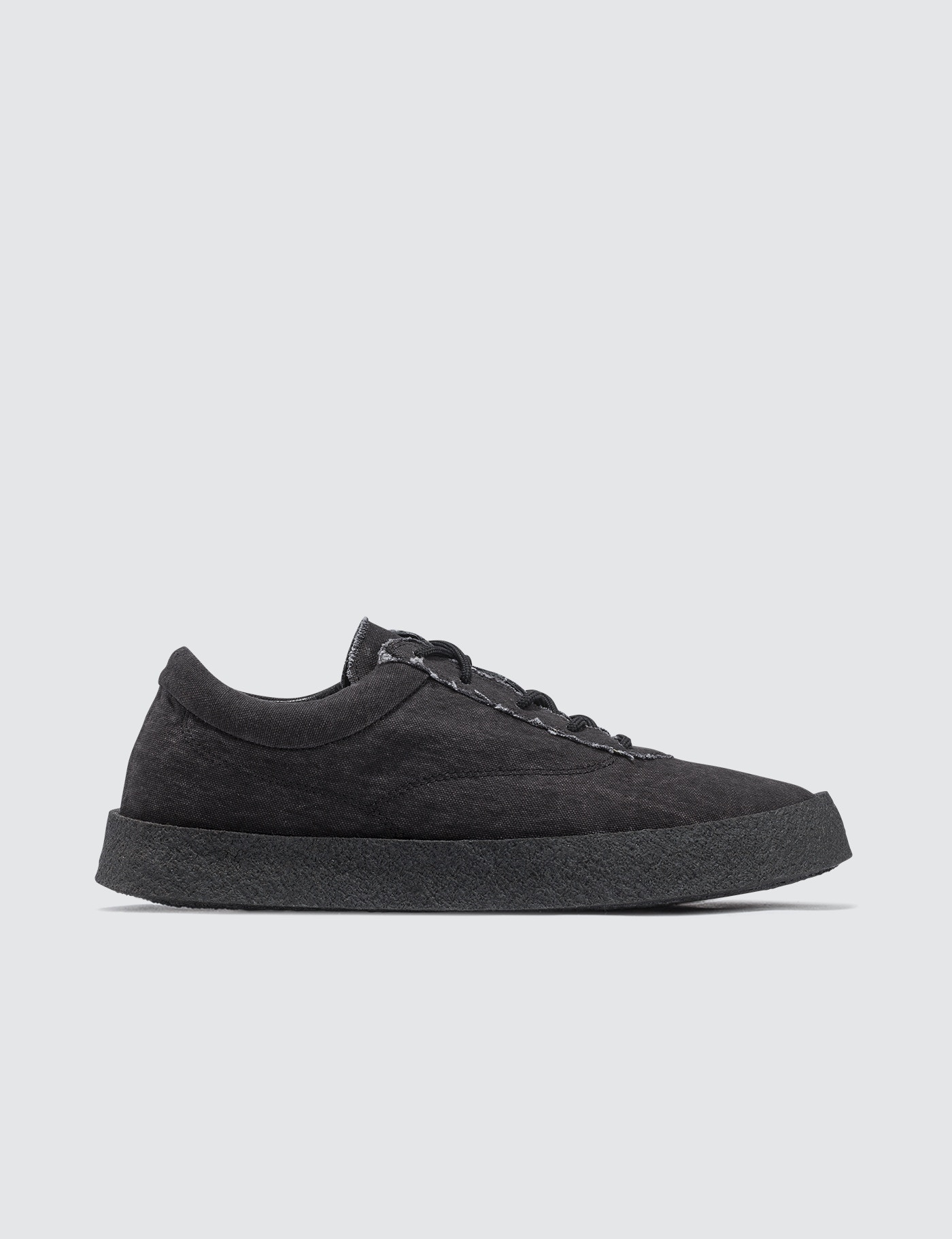 9561338f48a67 Buy Original Yeezy Season 6 Crepe Sneaker In Washed Canvas at ...