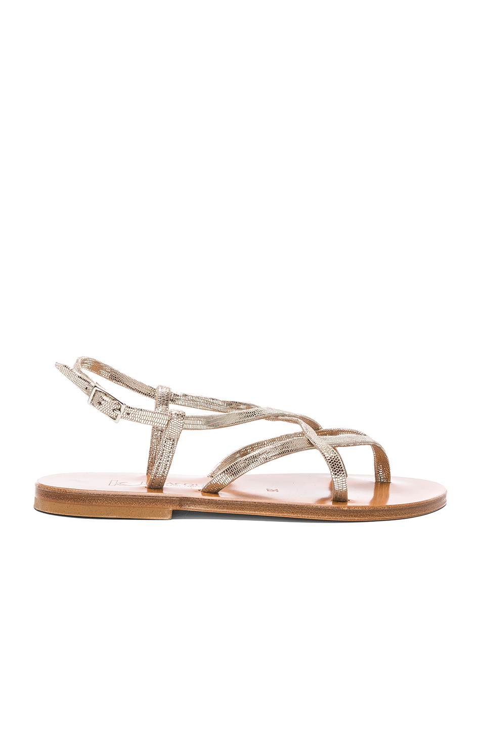 K Jacques Blueut Sandals