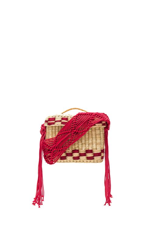 Nannacay Roge Small Macrame Strap Bag