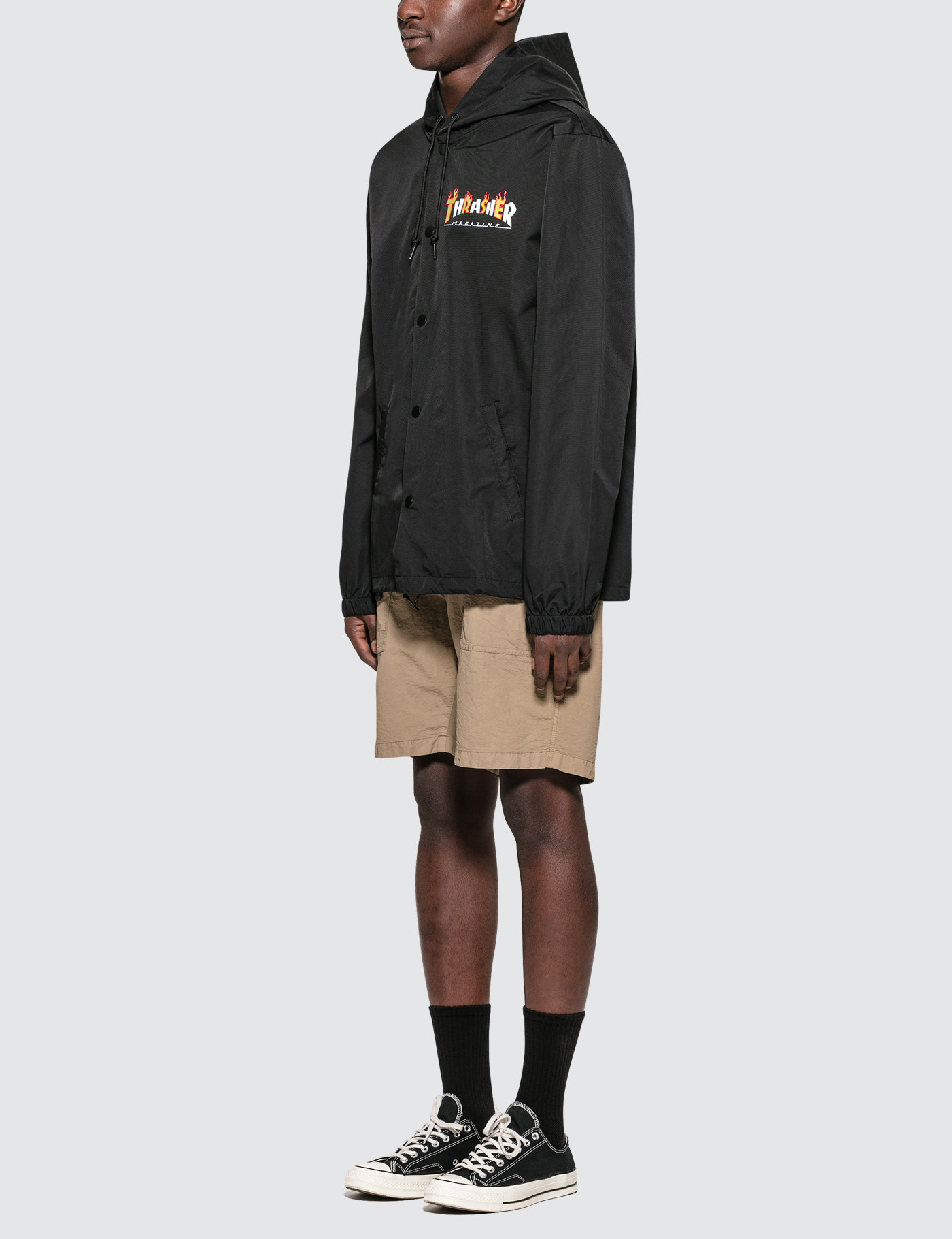 92d7f57d1d3f Buy Original Thrasher Flame Mag Coach Jacket at Indonesia