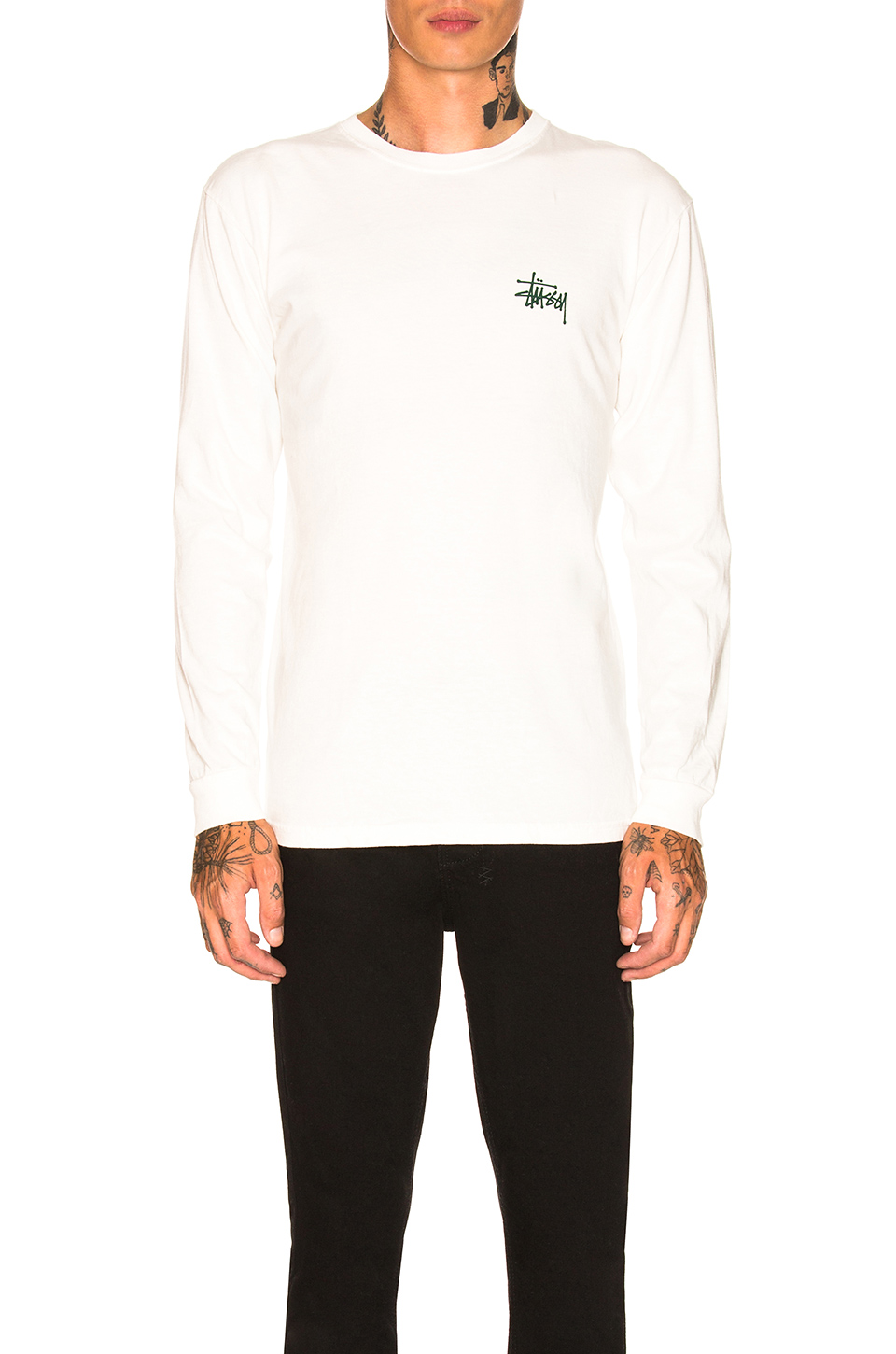 52bc0a237ce Buy Original Stussy Basic Long Sleeve Tee at Indonesia