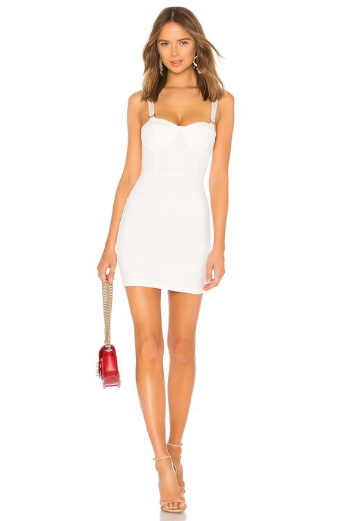by the way. Savanah Square Trim Corset Dress