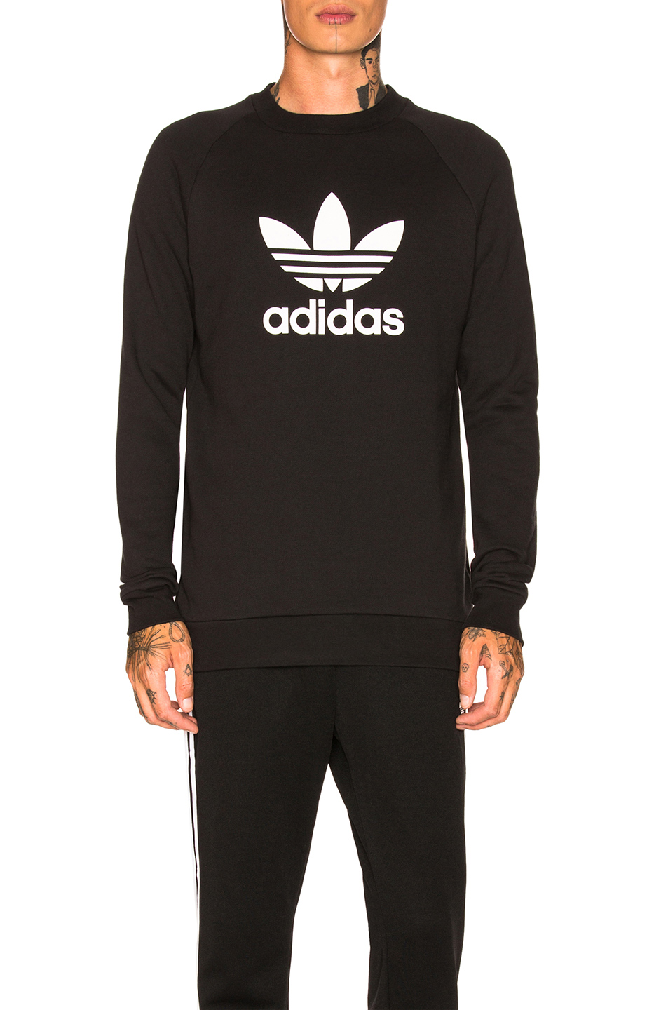 adidas Originals Trefoil Warm Up Crew Sweatshirt