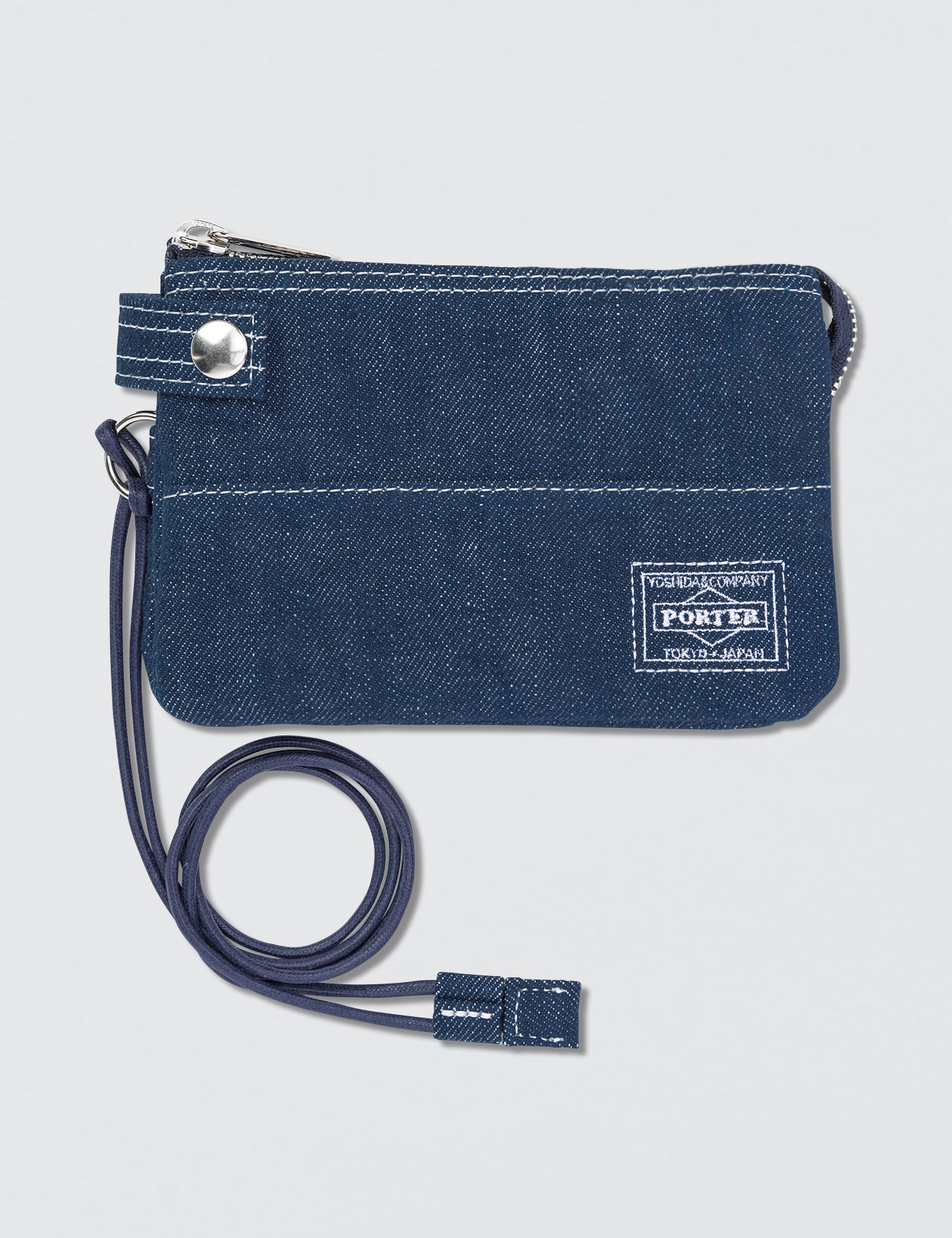 Buy Original Head Porter Denim Zip Wallet at Indonesia  2fb0509c8cc1a