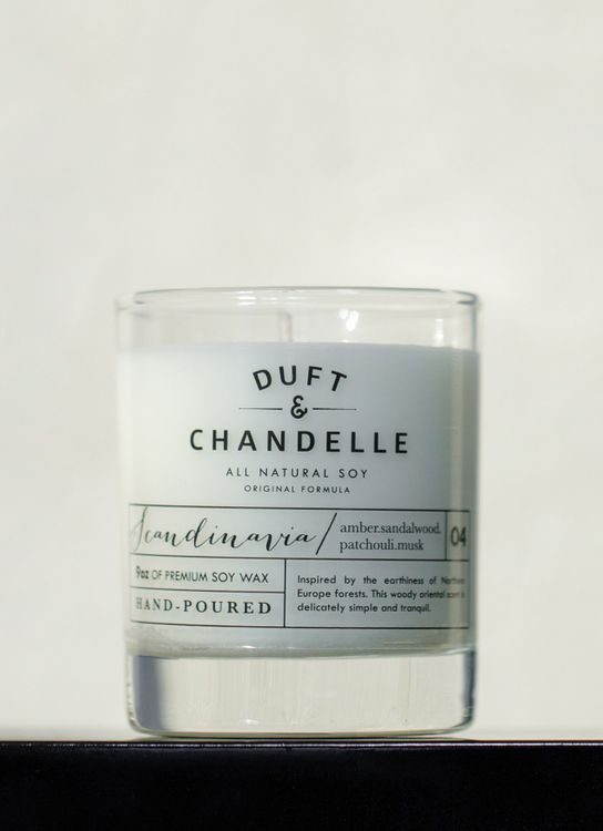 Duft & Chandelle Scandinavia Scented Candle 9oz
