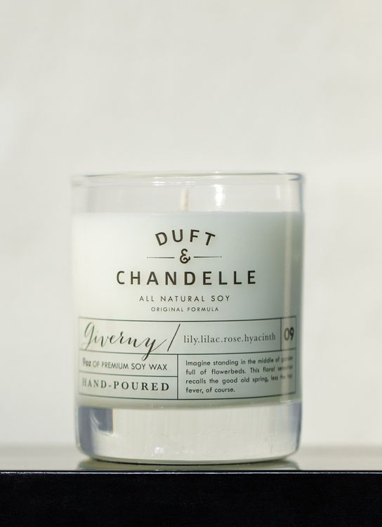 Duft & Chandelle Giverny Scented Candle 9oz