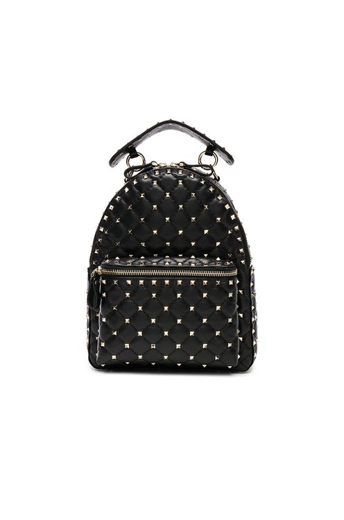 Valentino Small Rockstud Spike Backpack