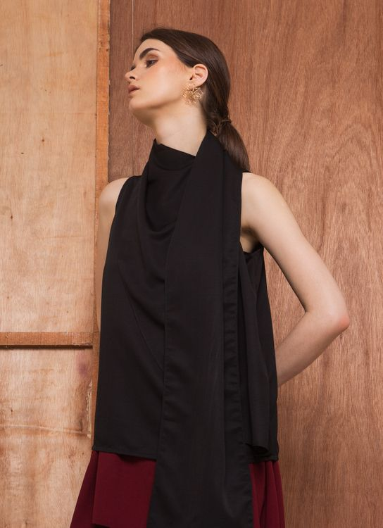 Morningsol Black Inches Blouse