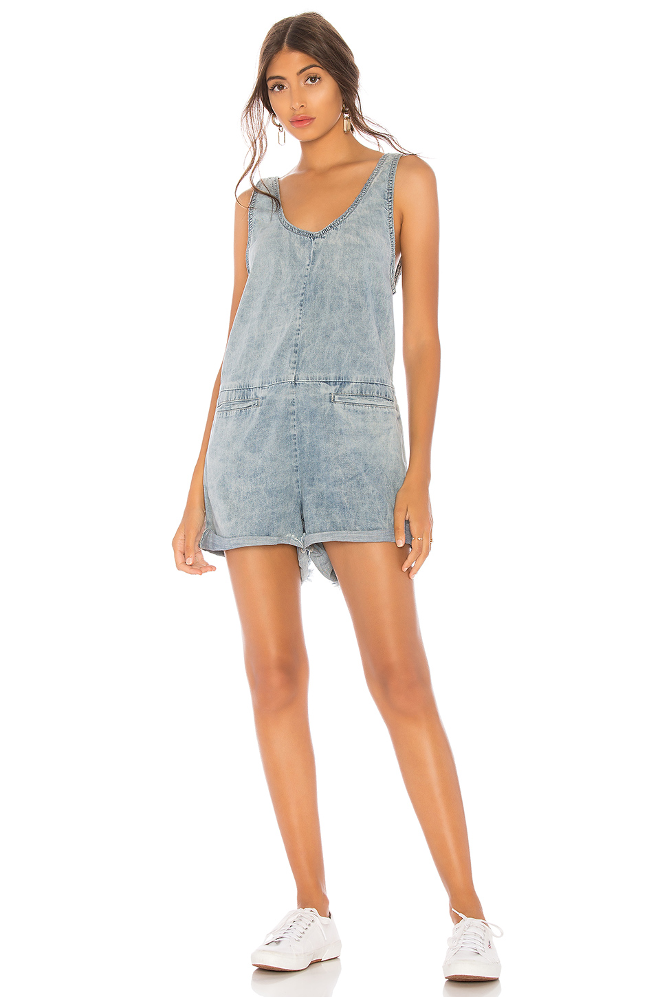 02e10e93aa93 One Teaspoon Denim Romper · One Teaspoon Denim Romper ...