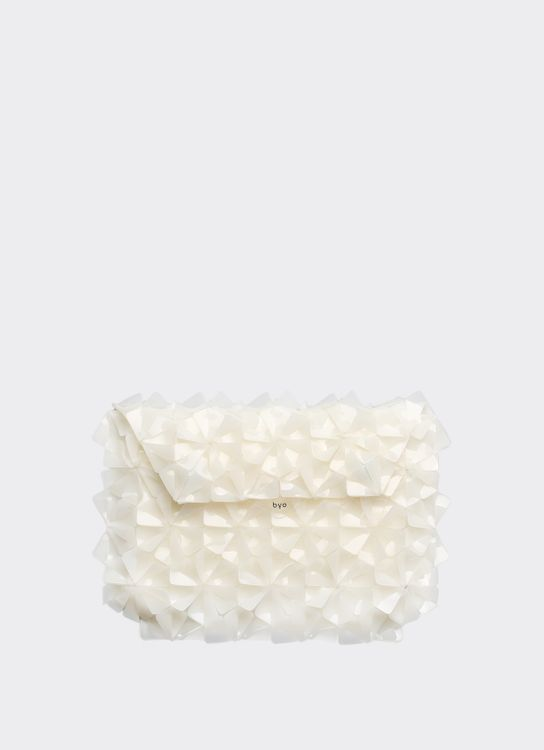 Byo Ghost White Warrior Clutch
