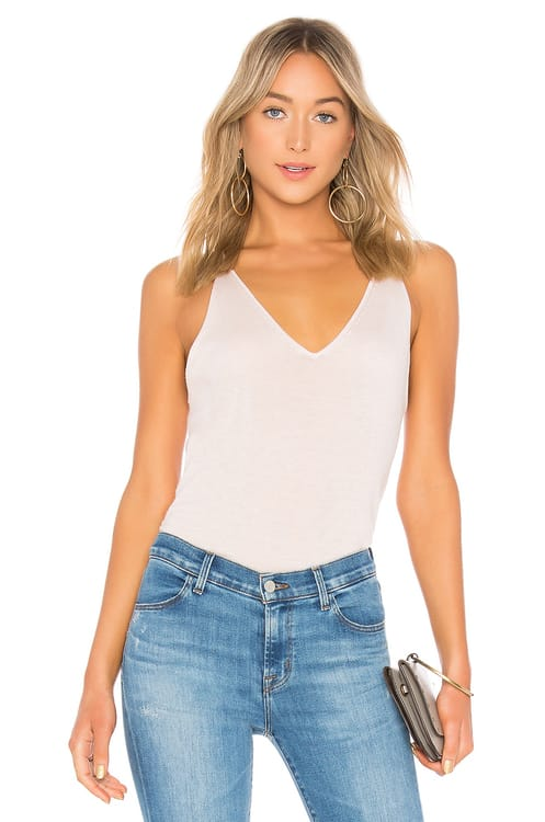 J Brand Lucy Sweater Cami Top