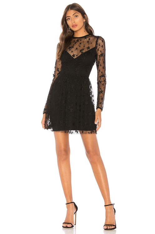 by the way. Abel Sheer Skater Dress
