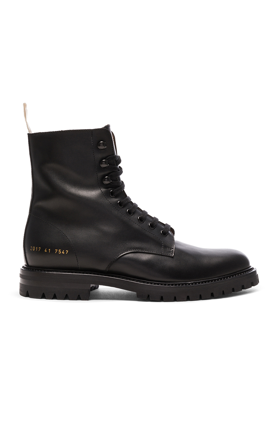 offer discounts outstanding features best value Leather Winter Combat Boots, Common Projects