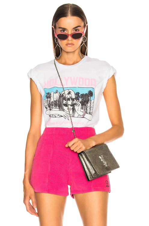LOCAL AUTHORITY Cover Girl Pocket Tee