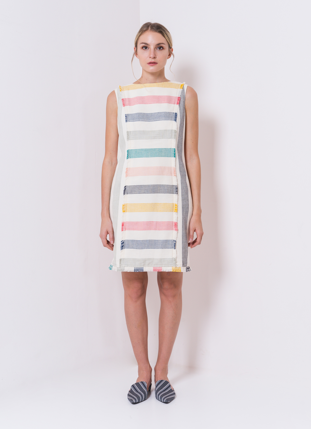 IKAT Indonesia by Didiet Maulana Multicolor Delilah Dress