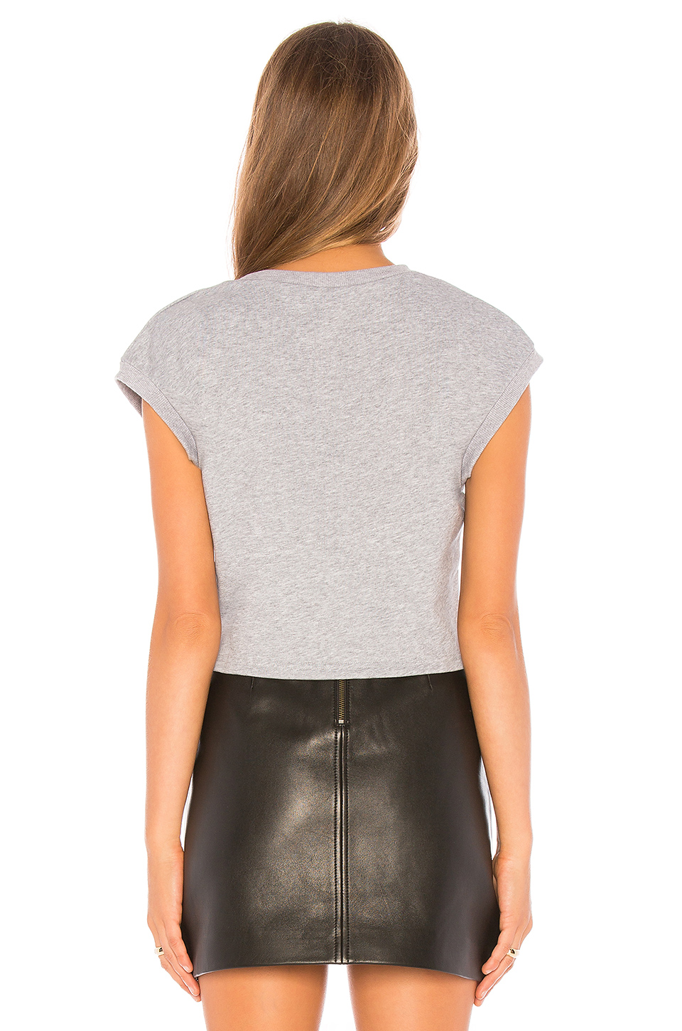 by the way. Hannah Twist Front Short Sleeve Shirt
