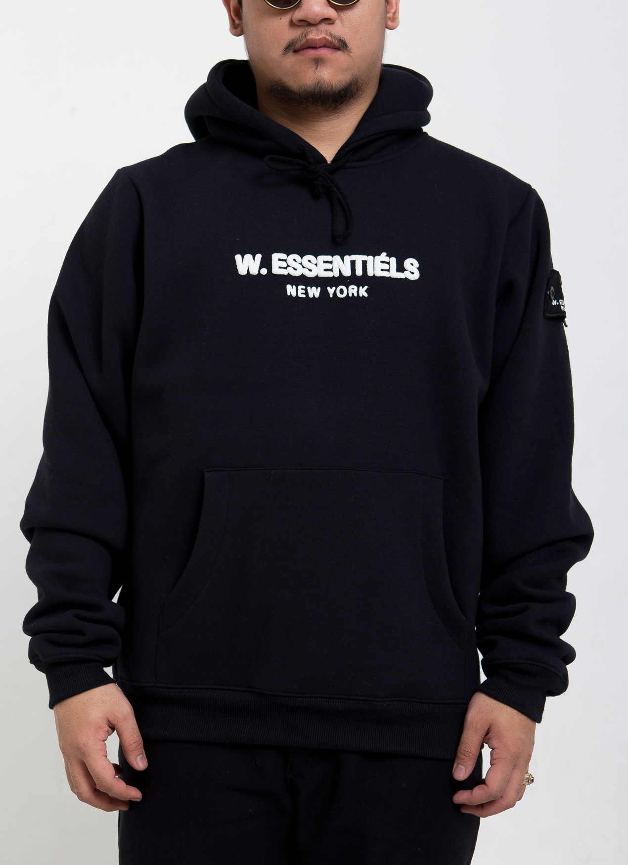 5bf6bb0d9 Buy Original W.Essentiels Noir Black Ecume Oversized Hoodie at ...