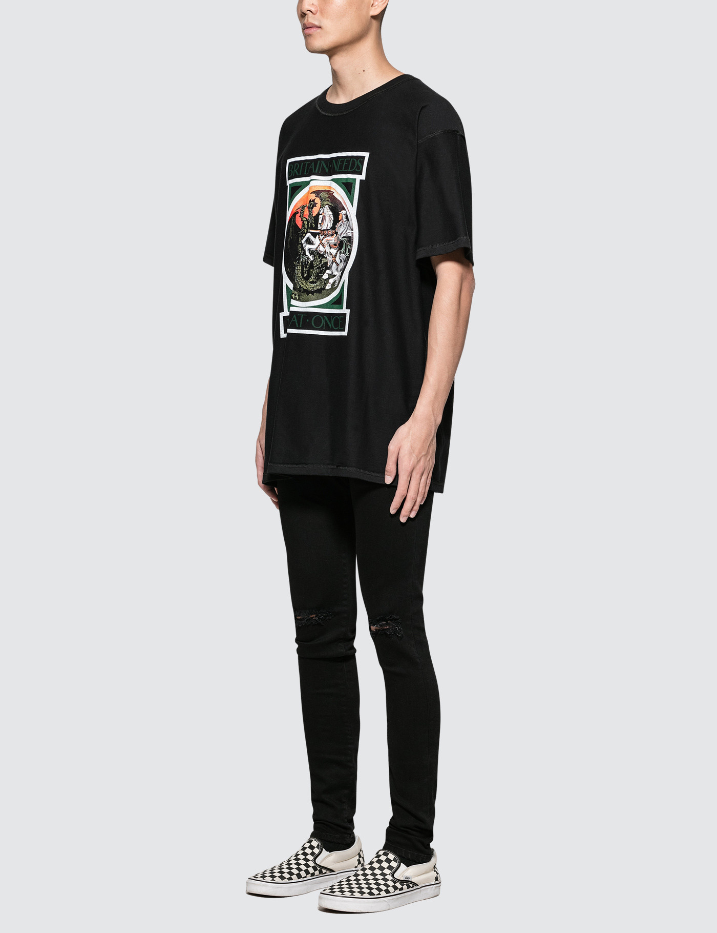 REPRESENT Clothing George And The Dragon S/S T-Shirt