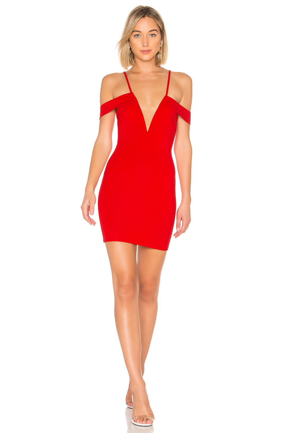 by the way. Avril Deep V Cut Out Dress