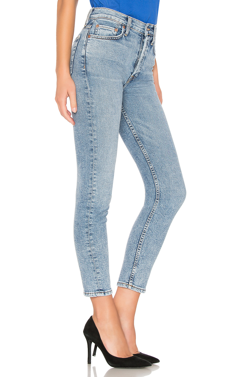 RE/DONE Originals High Rise Ankle