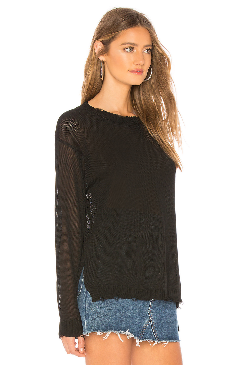 by the way. Taylor Sheer Sweater