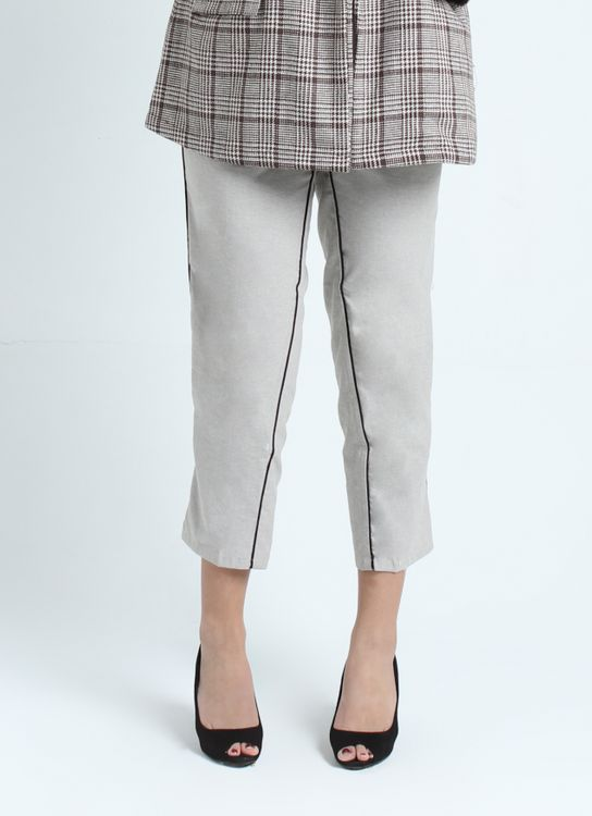 Calla The Label Gray with Black Lining Pants