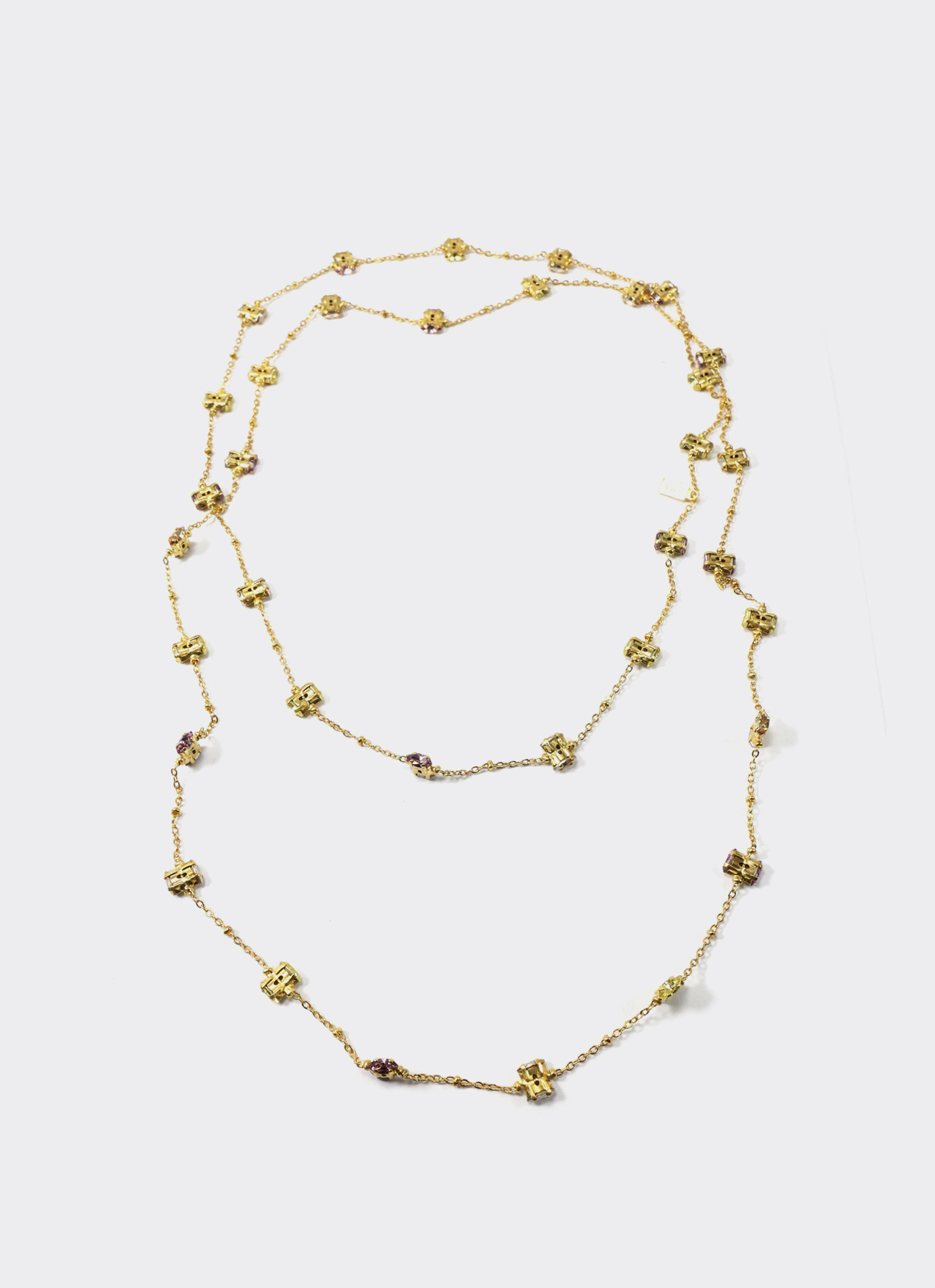 EPAJewel Gold Daily Deco Extra Length Necklace