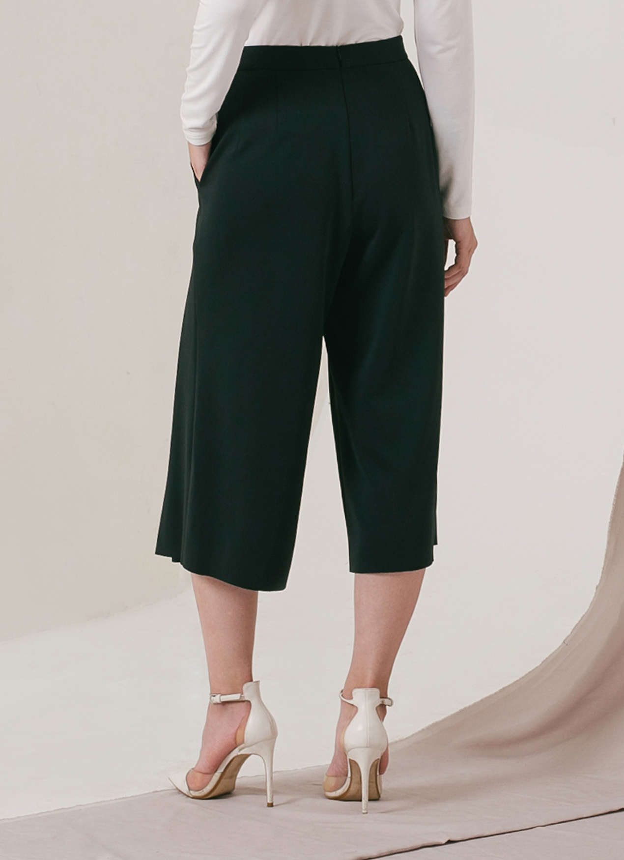 M By Mischa Black Hailey Culottes