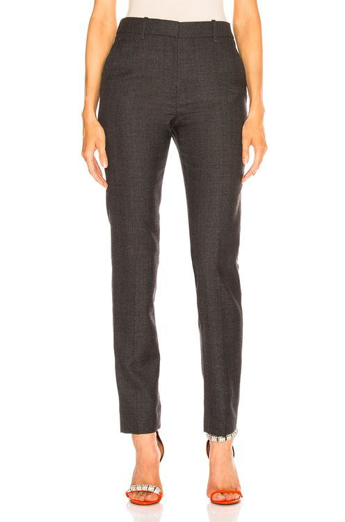 CALVIN KLEIN 205W39NYC Blurred Check Wool Trousers