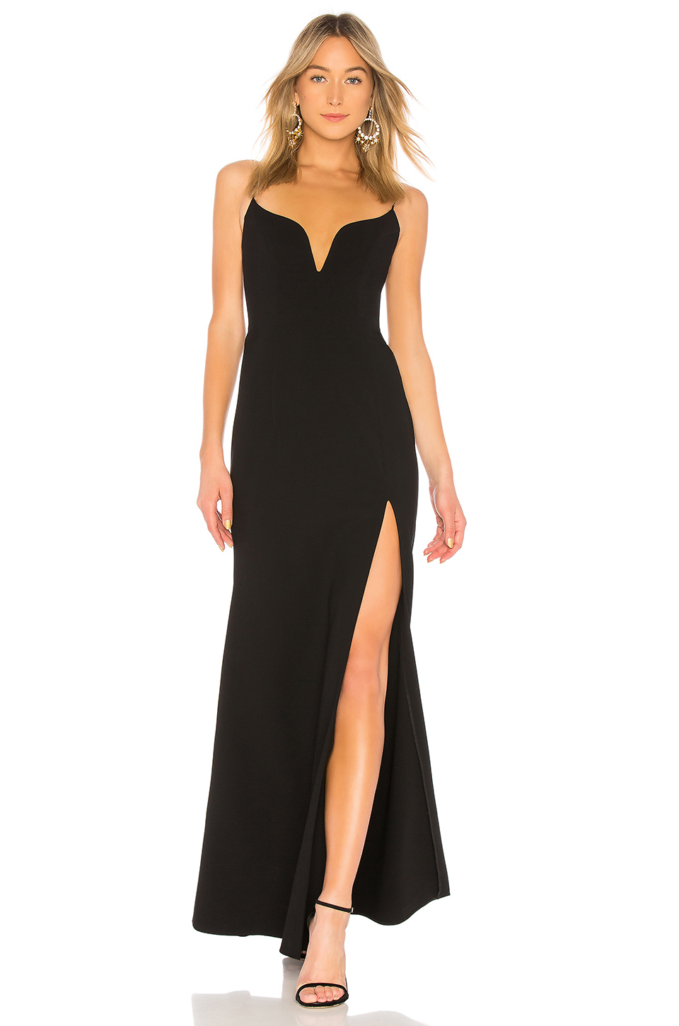 JILL JILL STUART Sweetheart Neck Gown