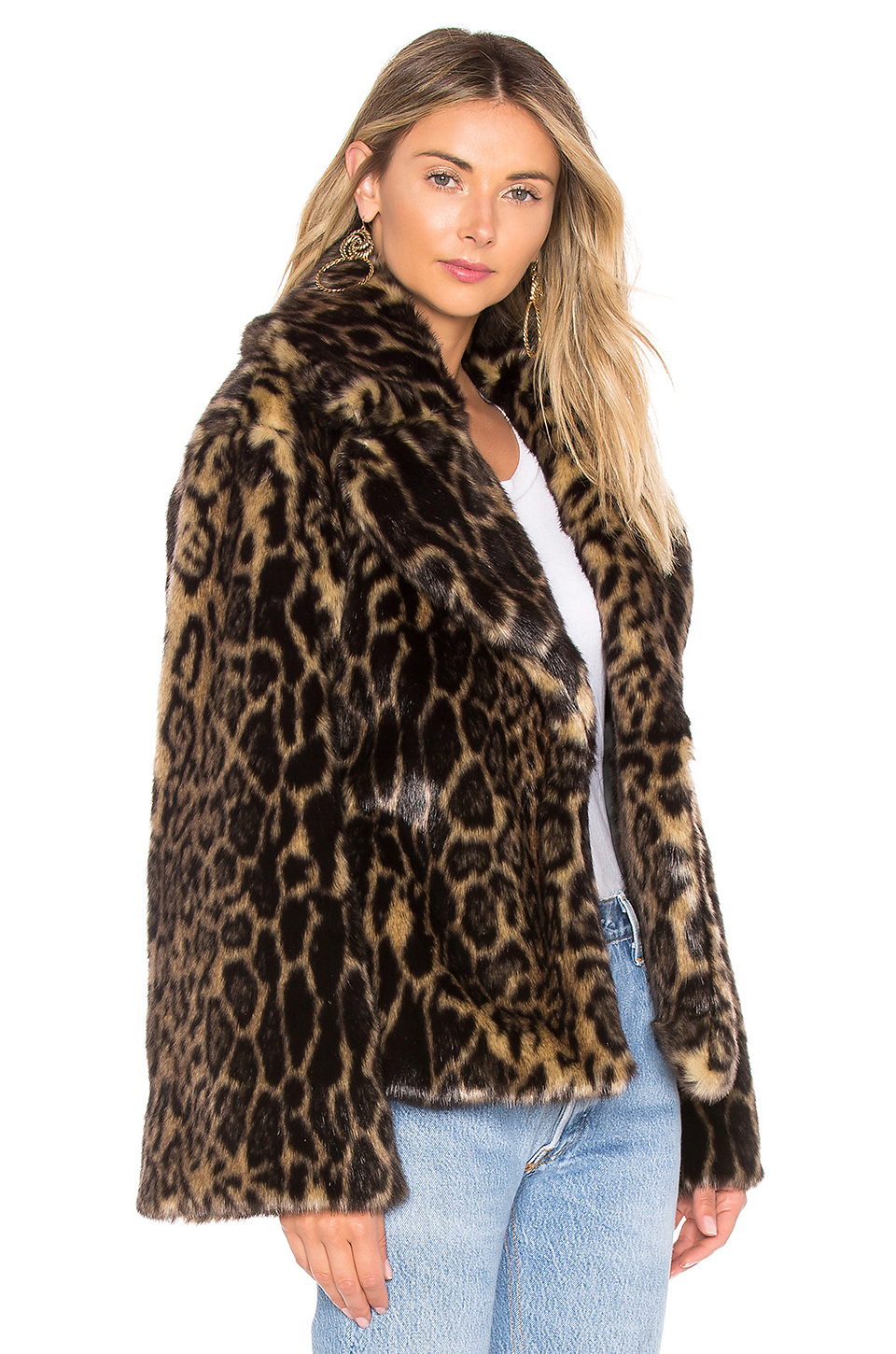 11f5104c60d4 Buy Original NILI LOTAN Sedella Faux Fur Coat at Indonesia ...
