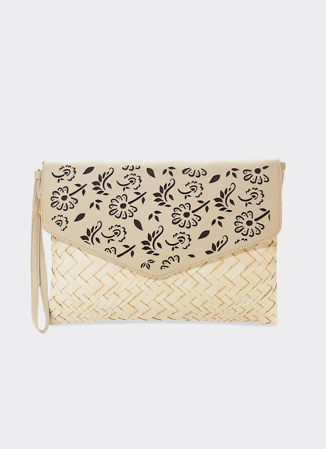 Chameo Couture Tawny Mae Parang Clutch Bag