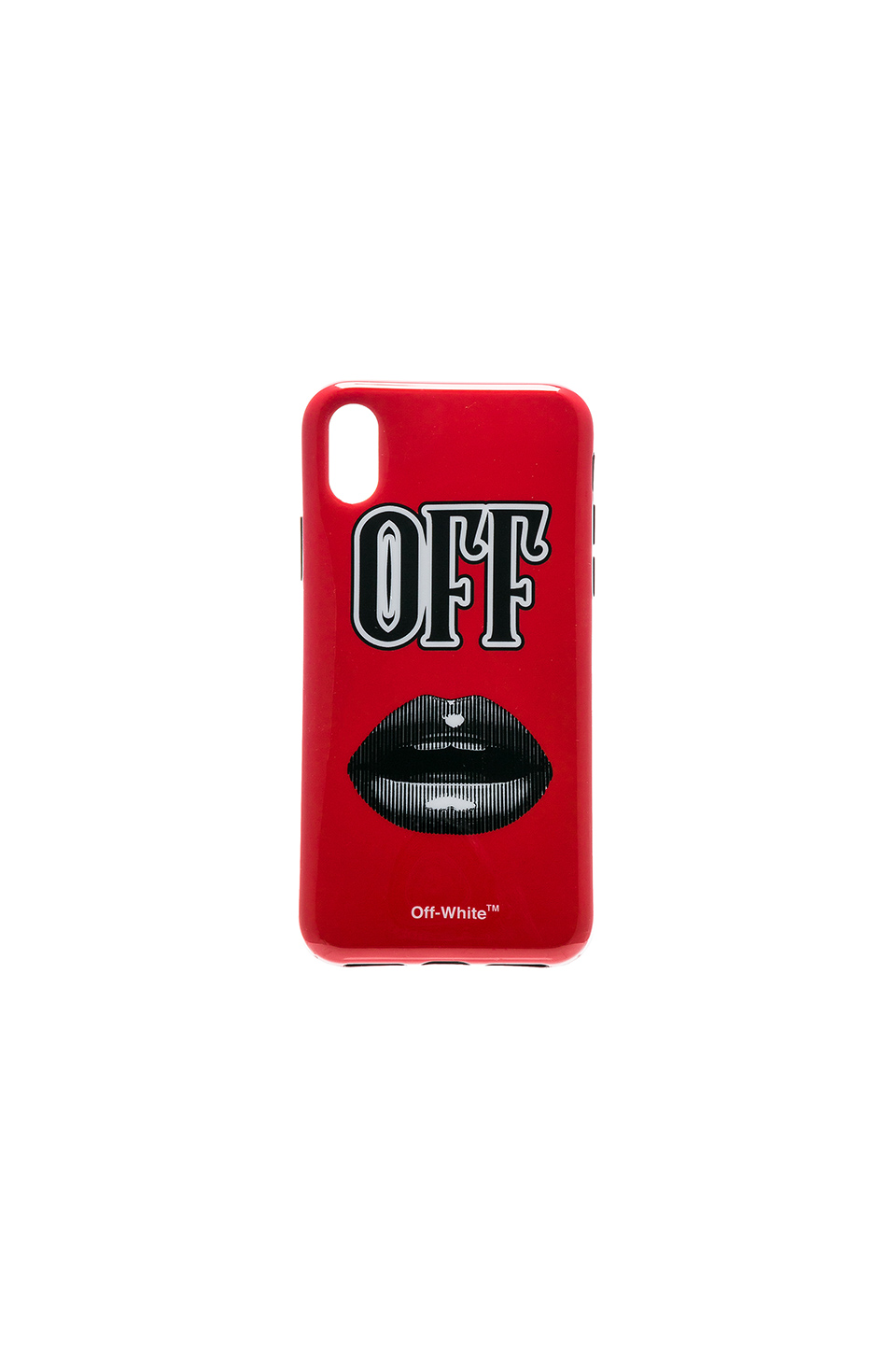 buy popular 2143a 5245c Lips iPhone X Case, OFF-WHITE