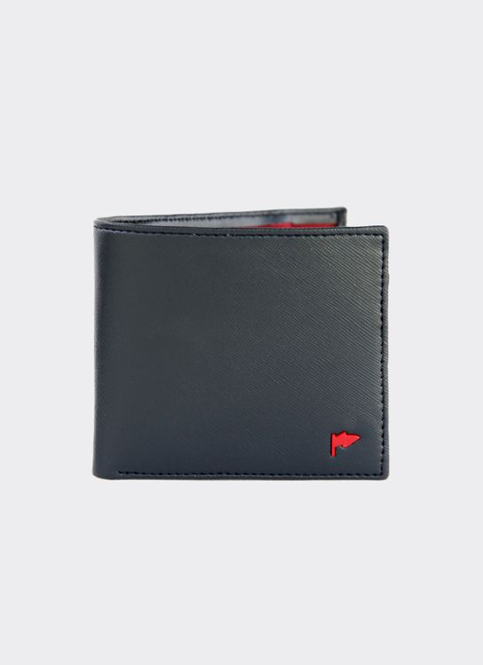 Taylor Fine Goods Black Clinton 204 Wallet