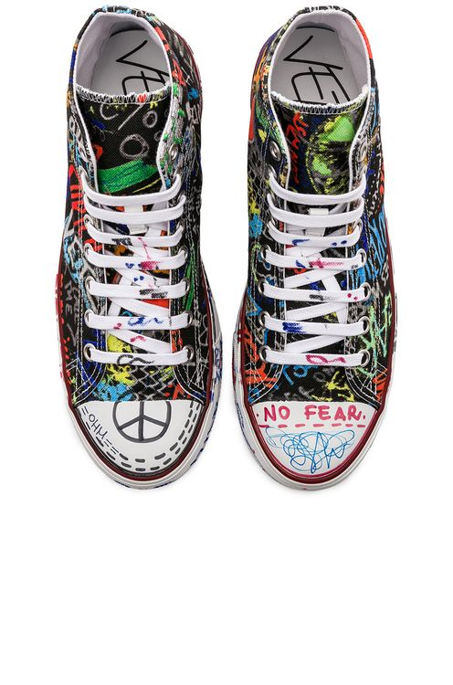 Vetements Graffiti Hi-Tops