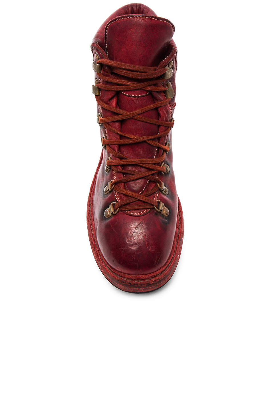 Guidi Lace Up Leather Combat Boots
