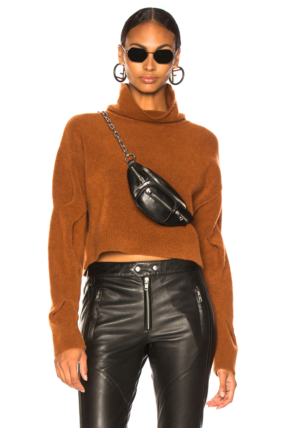 Chunky Cropped Sweater, T by Alexander Wang