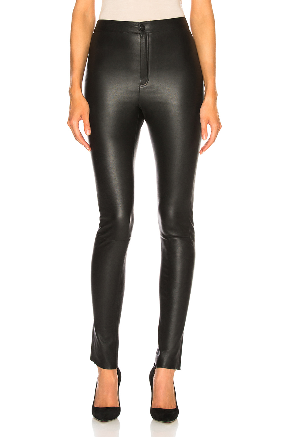 6bd9224c7b515c Jual Zeynep Arcay High Waisted Skinny Leather Pants - 100% Original ...