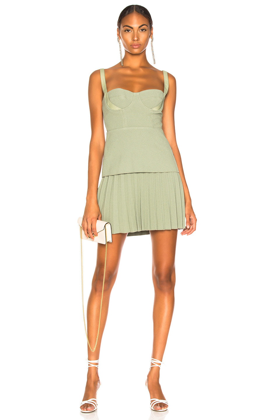 hot-selling professional genuine shoes online here Buster Pleated Mini Dress, Dion Lee